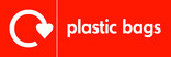 Plastic bags signage - logo (landscape)