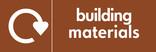 Building materials icon - logo (landscape)