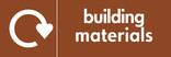 Building materials icon - logo (landscape)