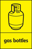 Gas bottles signage - gas bottle icon (Portrait)