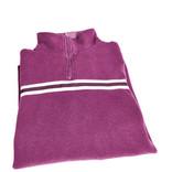 Folded women's purple jumper