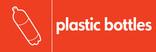 Plastic bottles signage - bottle icon (landscape)