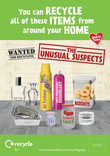 Unusual Suspects - Glass and Metal - Posters