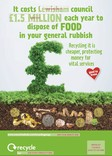 Good to Know - Food waste collection - Posters A3 / A4 / 6 Sheets - Landfill