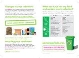 Cardboard contamination leaflet