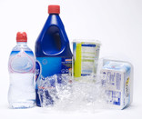 Plastic pots, tubs, film and bottles
