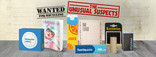 RfL - Unusual Suspects - Paper and Card - Social media banner