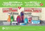 Unusual Suspects - Plastic - Bilingual Press Ads (Welsh-English)