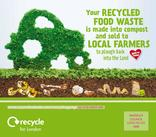 Recycle for London - Food Recycling - Farmer - Vehicle Livery (Square)