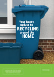 Good to Know - A5 leaflet - Recycling container on front cover - multi material