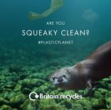'Are you squeaky clean?' bathroom recycling video - otter