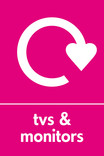 TVs & Monitors signage - logo (portrait)