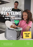 Food recycling - A5 leaflet - Family front cover