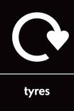 Tyres signage - Logo (portrait)