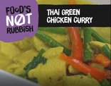 Foods Not Rubbish - Green Thai Curry