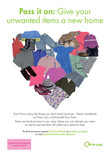 A3 Poster - Textiles & Clothing heart