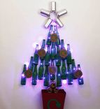 Christmas Bottle & Cans Tree
