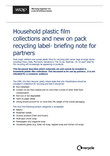 Info sheet - collection of household films