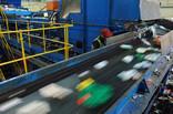 Machinery at materials recycling facility