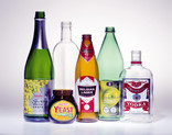 Assorted glass packaging