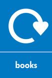 Books signage - logo (portrait)