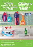 Good to Know - Plastics - Combined Bilingual Poster of Kitchen and Bathroom products - A3/A4 (Welsh first)