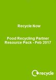 2017 Food Recycling Partner Resource pack