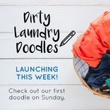 Love Your Clothes - Dirty Laundry Doodles - Partner Pack