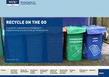 Recycle-on-the-go Wales guidelines