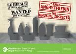 Unusual Suspects - Plastics - Bilingual A5 Leaflet (Welsh-English)