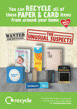 Unusual Suspects - Paper and Card - Press Ads