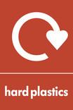 Hard plastics signage - logo (portrait)