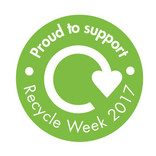 Recycle Week Supporters Badge