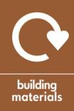 Building materials icon - logo (portrait)