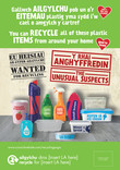 Unusual Suspects - Plastic - Bilingual Press Ads (Welsh-English)