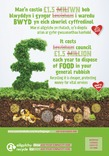 Good to Know - Food waste collection - Bilingual Posters - Landfill (Welsh-English)